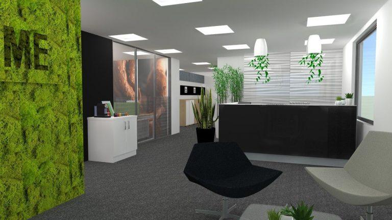 Espaces de travail ambiance «Green végétal»