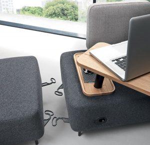 banquette FLEX WORK mobilier de bureau