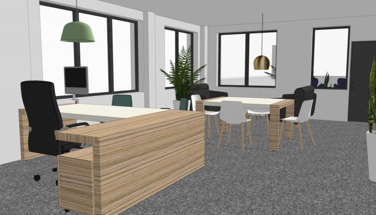 Espaces de travail style habitat