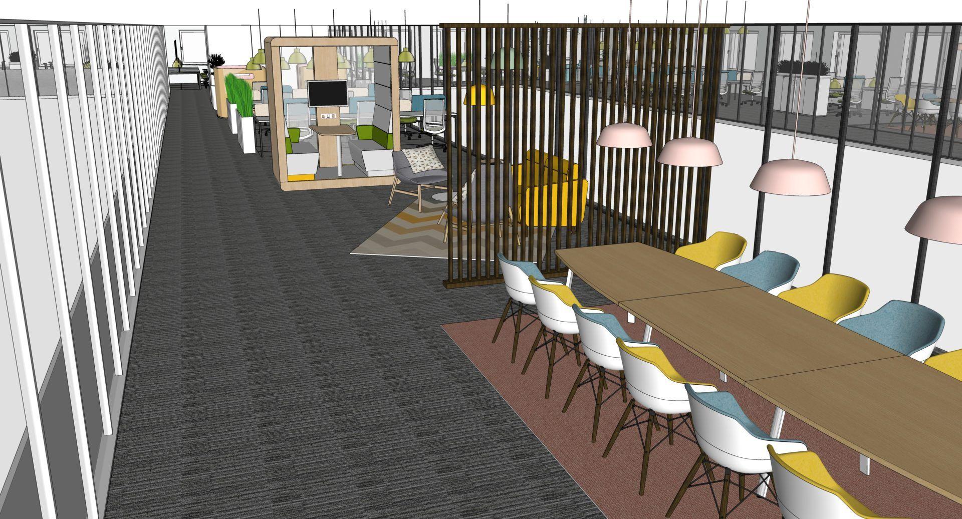 """vue-07 Espaces de travail ambiance """"Habitat"""""""