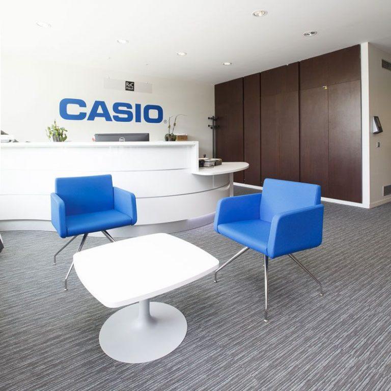 Aménagement complet des espaces CASIO