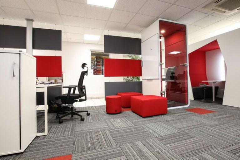 Aménagement de bureaux open space AXXAIR